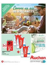 Prospectus Auchan drive : Comme un air de vacances