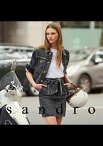 Prospectus Sandro : Nouveautés Collection