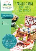 Prospectus L'eau vive : Panier Garni pour toutes vos envies!