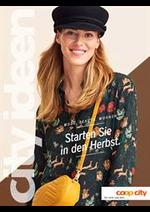 Catalogues et collections Coop City : Starten Sie in den Herbst.