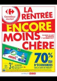 Promos et remises Carrefour Market MONT DE MARSAN : La rentrée encore moins chère