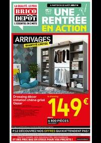 Prospectus Brico Dépôt GARGES : UNE RENTREE EN ACTION !