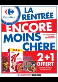 Promos et remises Carrefour St-Quentin-en-Yvelines - Montigny-Le-Bretonneux : LA RENTRÉE ENCORE MOINS CHÈRE