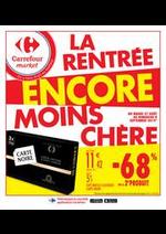 Promos et remises Carrefour Market : La rentrée encore moins chère 2