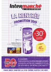 Bons Plans Intermarché Super Vaux le Penil : LA RENTREE PROMOTION 2019