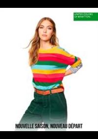 Prospectus United Colors of Benetton Bruxelles - Av Louise  : Nouvelle Saison, Nouvelle Départ