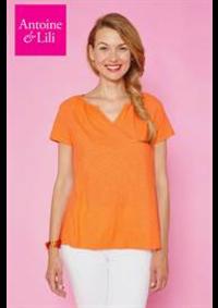 Prospectus Antoine et Lili Paris 1er : T-Shirt Femme