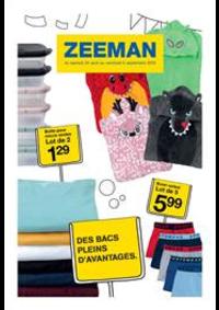 Prospectus Zeeman Villetaneuse CC Bienvenu : Promos Zeeman