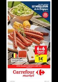Prospectus Carrefour Express BRUXELLES Beurre : Offres valables a partir du 14 aout
