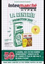 Prospectus  : LA RENTREE PROMOTION 2019