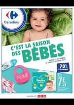 Prospectus Carrefour : C'est la saison des bébés !