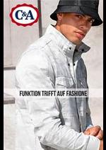 Catalogues et collections C&A : Funktion trifft auf Fashion