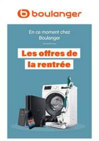 Prospectus Boulanger : Les offres de la rentrée