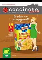 Prospectus Coccinelle Express : En salade ou en accompagnement!