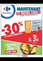 Prospectus Carrefour : Le meilleur du bio moins cher