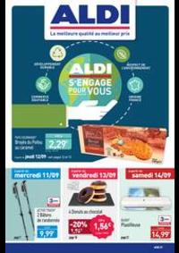 Prospectus Aldi Doubs : ALDI s'engage pour vous