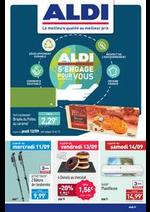 Prospectus Aldi : ALDI s'engage pour vous