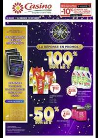 Prospectus Supermarchés Casino EVIAN LES BAINS : Catalogue Casino Supermarchés