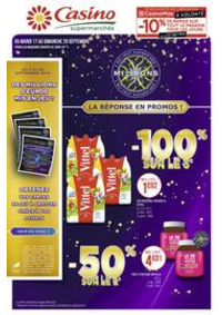 Prospectus Supermarchés Casino PARIS 50 - 60 rue de la Pompe : Catalogue Casino Supermarchés