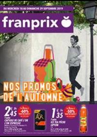 Prospectus Franprix EVIAN LES BAINS : Nos promos de l'automne