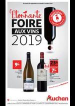 Promos et remises  : L'étonnante foire aux vins 2019 !