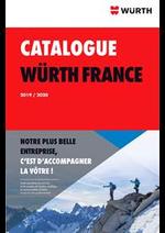 Prospectus Wurth : Catalogue Würth 2019/2020