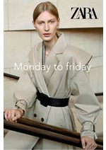 Promos et remises  : Monday to friday