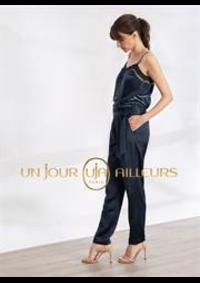 Prospectus Un jour ailleurs PARIS 33-35 RUE TRONCHET : Collection Pantalons