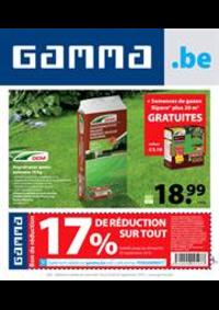 Promos et remises GAMMA UCCLE : Gamma Acties