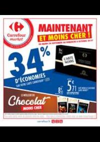 Prospectus Carrefour Market ELANCOURT : Maintenant et moins cher !