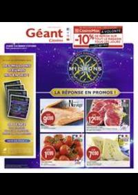Prospectus Géant Casino SAINT MICHEL SUR ORGE : La réponse en promos !