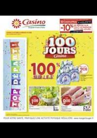 Prospectus Supermarchés Casino MAISONS ALFORT : Les 100 jours Casino
