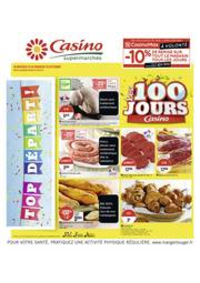 Prospectus Supermarchés Casino Sevran : Les 100 jours Casino