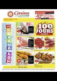 Prospectus Supermarchés Casino PARIS 50 - 60 rue de la Pompe : Les 100 jours Casino