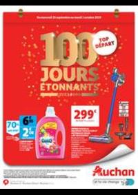 Prospectus Auchan Drive Plaisir : 100 jours étonnants avant 2020