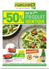 Prospectus NaturéO SAINT-MAXIMIN : -50% sur le 2ème produit identique