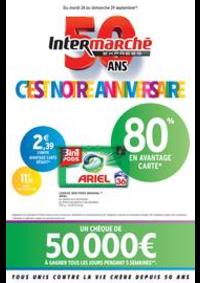 Prospectus Intermarché Express Paris 15 - Rue de Lourmel : C'EST NOTRE ANNIVERSAIRE