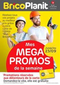Prospectus Brico Plan-it Bruxelles : Mega Promos