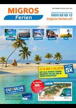 Bons Plans  : Migros Ferien Winter 2019-2020