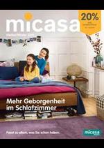 Prospectus Micasa : Micasa Schlafen Herbst/Winter 2019