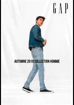 Prospectus Gap : Automne 2019 Collection Homme
