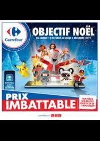 Prospectus Carrefour : Objectif Noël