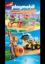 Prospectus Playmobil : Catalogue d'accessoires complementaires 2019