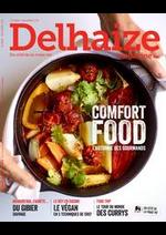Journaux et magazines Supermarché Delhaize : Delhaize Magazine:
