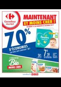 Prospectus Carrefour Market : Maintenant et moins cher !