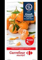 Prospectus Carrefour Drive : offres valables a partir du 09 octobre