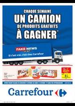 Promos et remises Carrefour Express : Chaque semaine un camion de produits a gagner