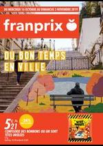 Prospectus Franprix : Du bon temps en ville
