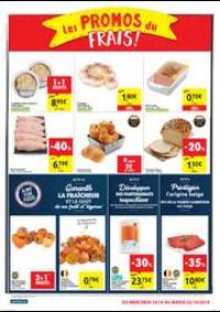Promos et remises Carrefour Market COUVIN : folder Carrefour Market