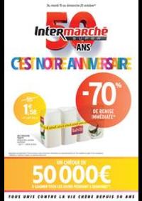 Prospectus Intermarché Super Jeumont : C'EST NOTRE ANNIVERSAIRE